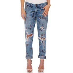 LUCKY BRAND Embroidered Sienna Boyfriend Jeans